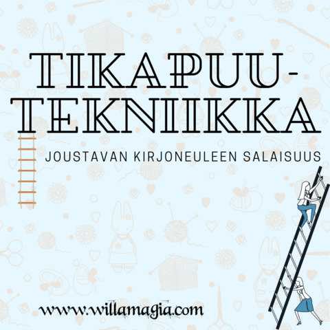 Tikapuutekniikka -kurssimaksu