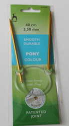 Colour pyöröpuikot, 3.5 mm 40 cm, Pony