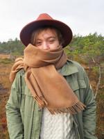 LULU -huivi Medium Fawn
