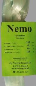 Nemo 0,17 x 50 mm x 10,0 m x 120 m VVIHR