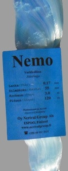 Nemo 0,17 x 55 mm x 3,0 m x 120 m VS