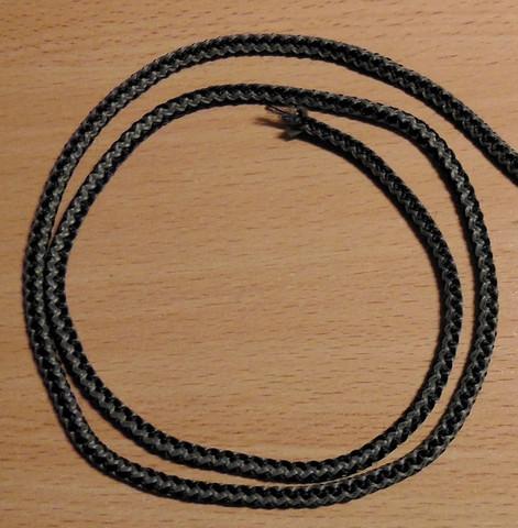 Virkattu lyijypaula ydinlangalla 12 g/m, 1000 m/krt