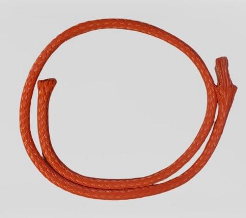 Punottu polyeteeni ydinlangalla Ø 4 mm, 2 kg/rll, n. 380 m, oranssi