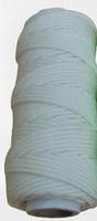 Punottu polyesteri Ø 3,0 mm, 50 m/rll, valkoinen