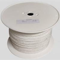Punottu polyesteri Ø 5 mm n. 350 m/rll, valk.