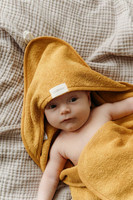 Aarre, Ruby hooded towel, mustard