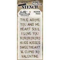 Tim Holtz sabluuna Valentine