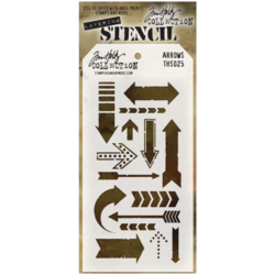 Tim Holtz sabluuna Arrows