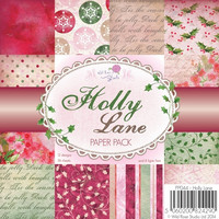 Wild rose studio paperikko Holly Lane 6x6