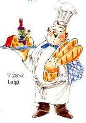 Art Impression leima Luigi kokki
