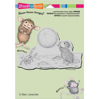 Stampendous House mouse leimasin Beach Toss
