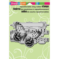 Stampendous leimasin perhonen butterfly tune