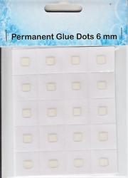 NS Permanent glue dots 6mm