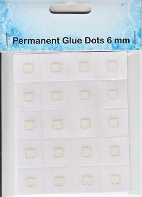 NS Permanent glue dots 6mm
