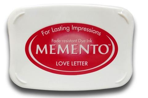 Memento leimamuste Love Letter