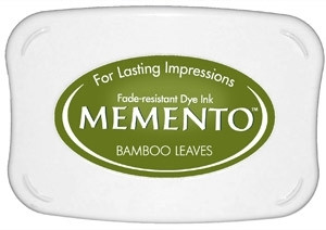 Memento leimamuste Bamboo Leaves