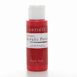 Artiste Akryylimaali 59ml Dark Red