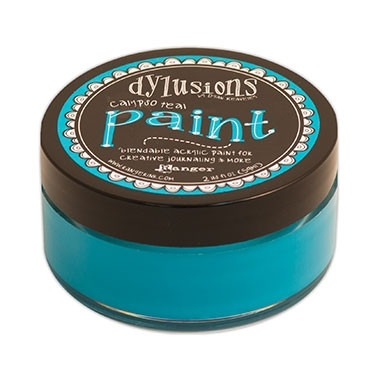 Dylusions paint maali Calypso Teal