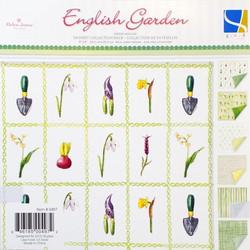 g.c.d studios paperipakkaus English Garden 8x8