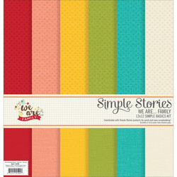 Simple Stories paperipakkaus We are family 12x12
