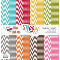 Simple Stories paperipakkaus Snap Color vibe Brights 12x12
