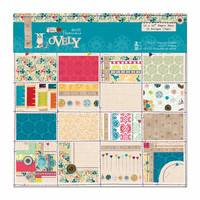 Papermania sew lovely paperikko 12x12