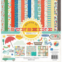 Echo Park collecktion kit paperisetti Walking on sunshine 12x12