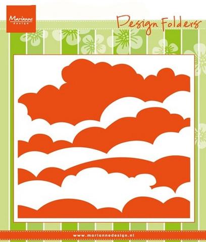 Marianne Design kohokuviointitasku pilvet