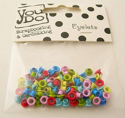 You Do Eyelettilajitelma mixed colors 1/8