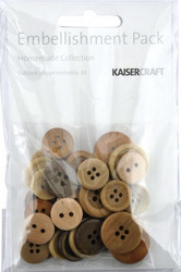 Kaisercraft nappilajitelma homemade