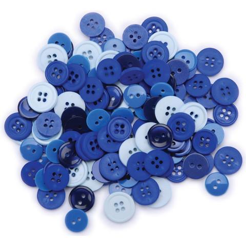 Favorite Findings napit siniset blue