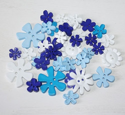 Ww kukkanapit Blue flowers