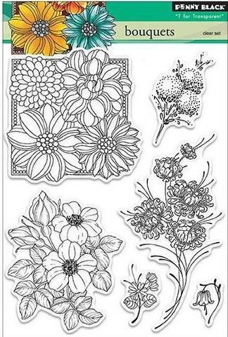 Penny Black leimasinsetti Bouquets