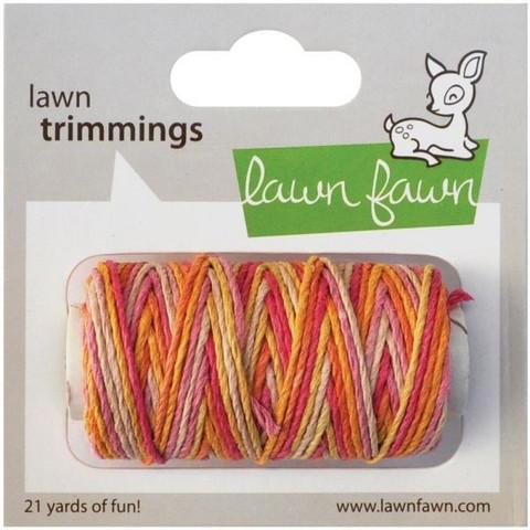 Lawn Fawn leipurinnyöri oranssi/keltainen/punainen