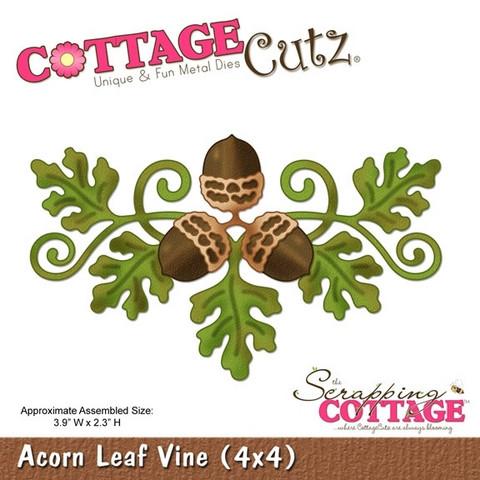 Cottage Cutz stanssi Acorn Leaf Vine