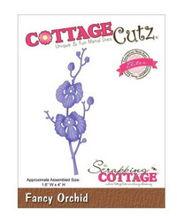 Cottage Cutz stanssi Fancy Orchid, orkidea