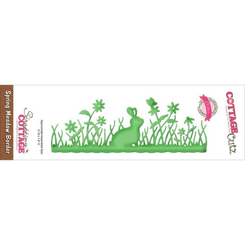 Cottage Cutz stanssi Spring meadow border
