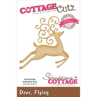 Cottage Cutz  stanssi poro deer, flying