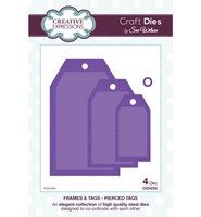 Creative Expressions stanssit Frames & tags Pierced tags
