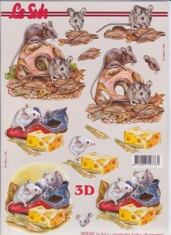 3D-kuva hiiret