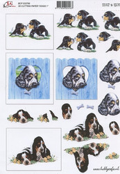 3D-kuva Cm koirat