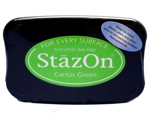 StazOn leimamuste Cactus green