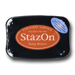 StazOn leimamuste Rusty Brown