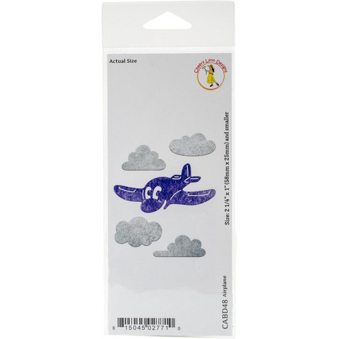 Cheery Lynn Designs lentokone ja pilvistanssit
