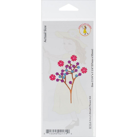 Cheery Lynn Designs stanssi Baby's Breath Flower Kit