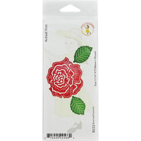 Cheery Lynn Designs stanssi Rose & Leaves