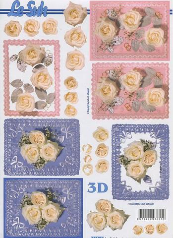 3d-kuva häät ruusut ja sormukset pitsitaustalla