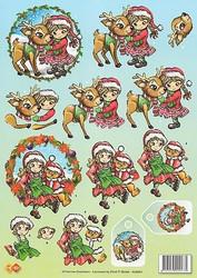 3d-kuva Joululapset