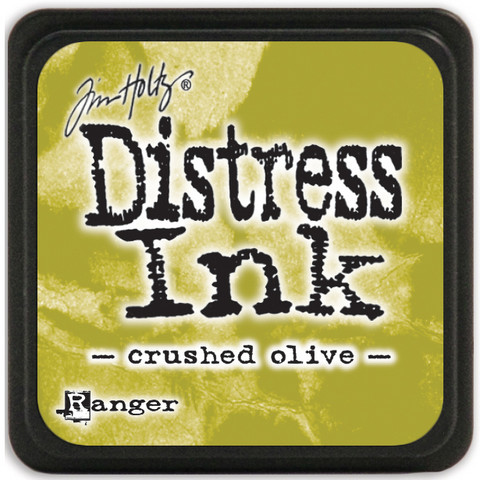 Distress ink leimamuste Crushed Olive