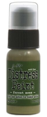 Distress paint maali forest moss